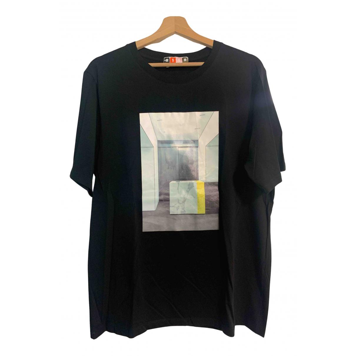 Msgm \N T-Shirts in  Schwarz Baumwolle