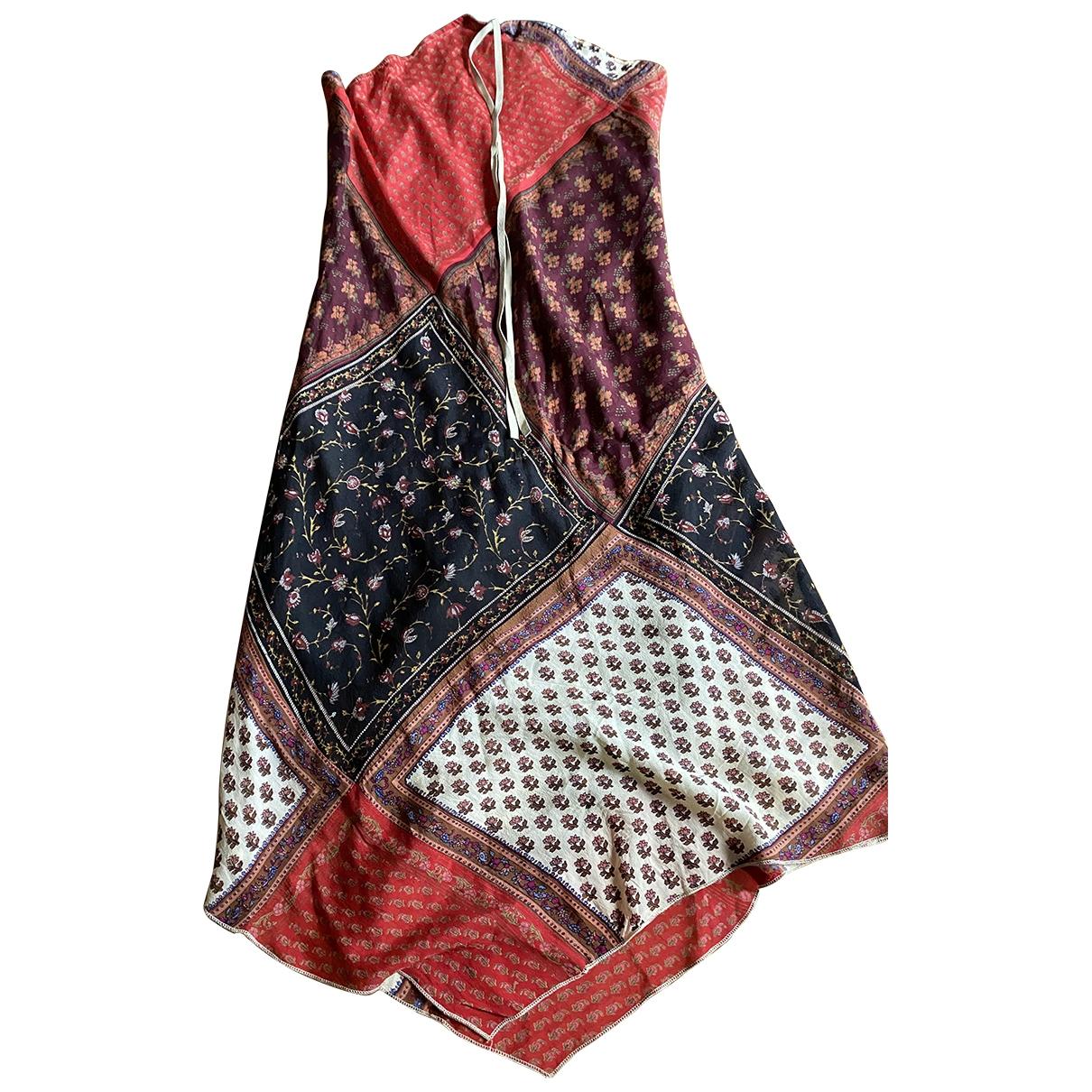 Twin Set \N Kleid in  Rot Seide
