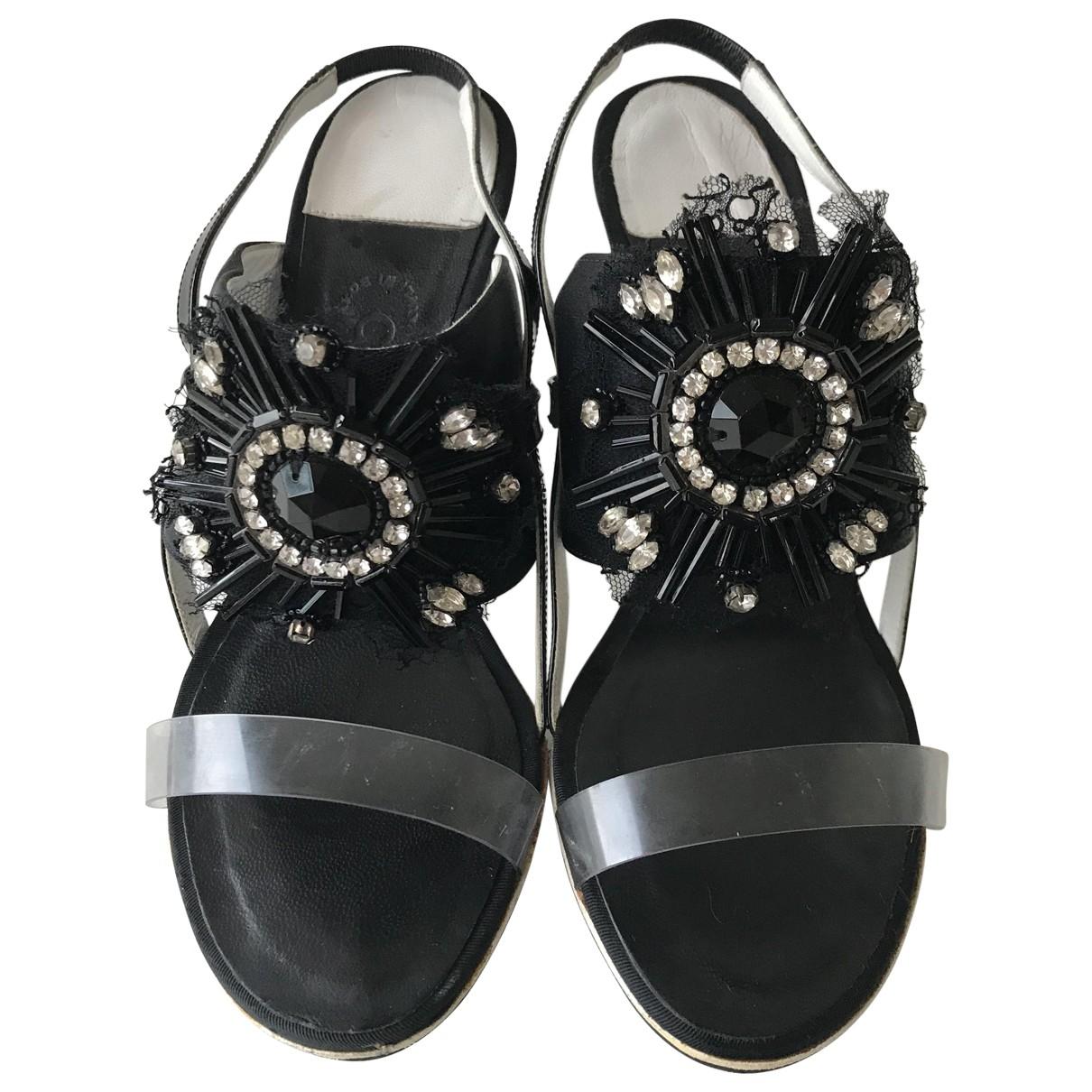 Sandalias de Lona Chanel