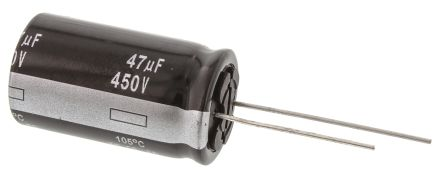 Panasonic 47μF Electrolytic Capacitor 450V dc, Through Hole - EEUED2W470 (5)