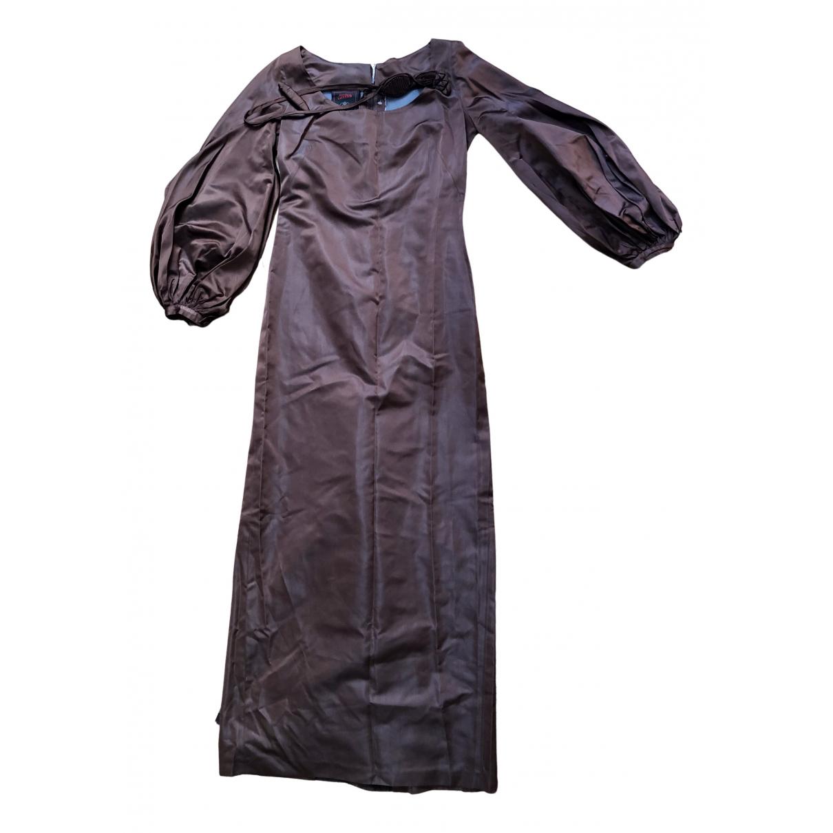 Jean Paul Gaultier - Robe   pour femme en soie - multicolore