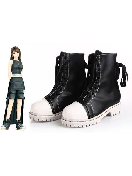 Milanoo Final Fantasy Tifa Lockhart Halloween Cosplay Shoes