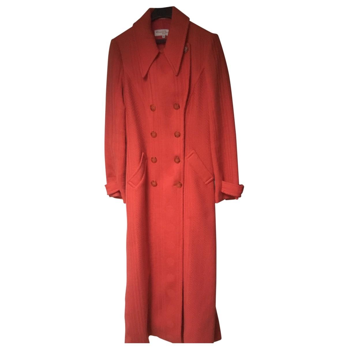 Christian Lacroix \N Maentel in  Orange Wolle