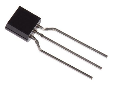 STMicroelectronics LM2931AZ50R, LDO Regulator, 100mA, 5 V, ±4% 3-Pin, TO-92 (10)