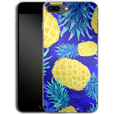 Apple iPhone 7 Plus Silikon Handyhuelle - Pineapple Crush von Mukta Lata Barua