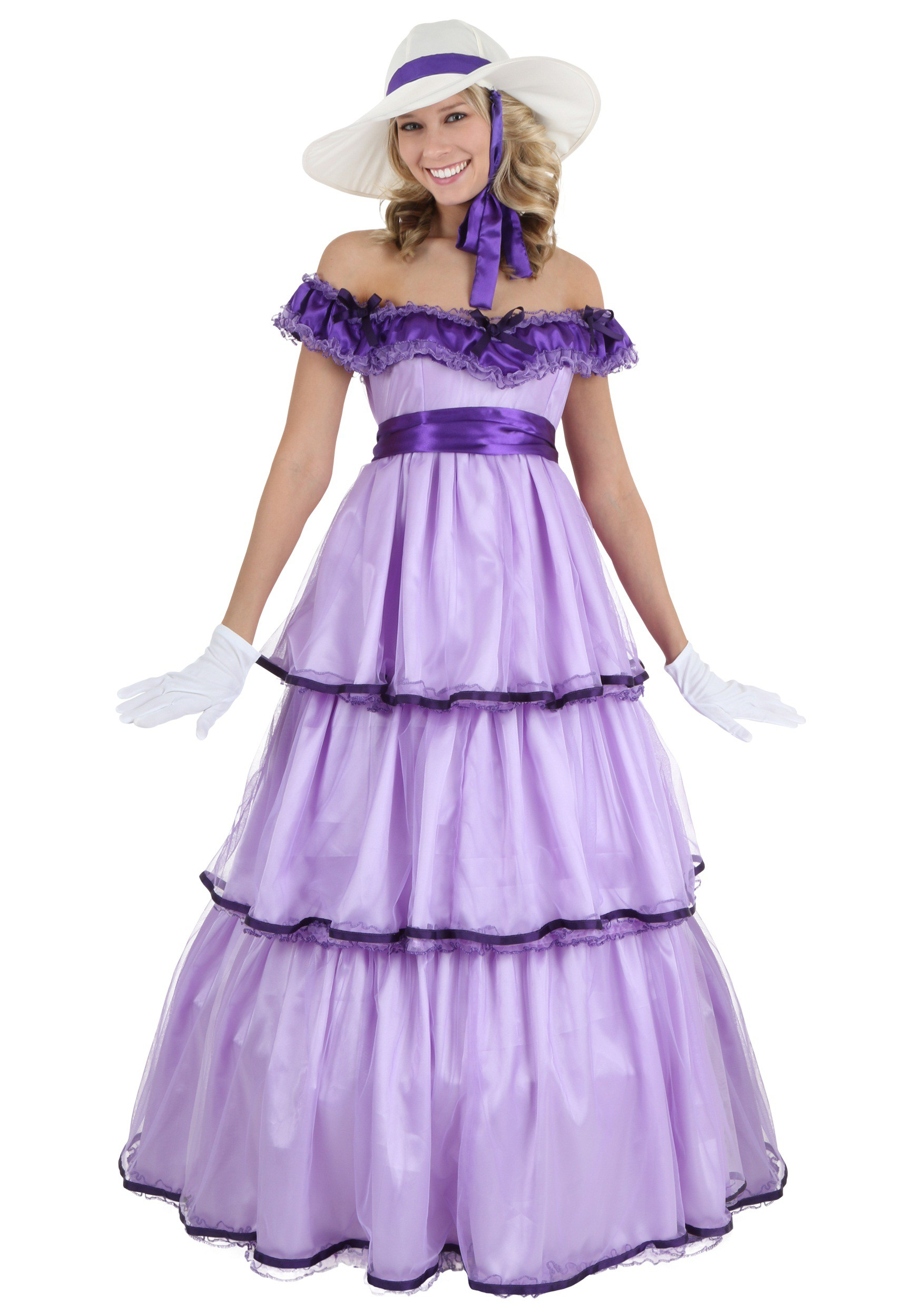 Deluxe Southern Belle Women's Costume