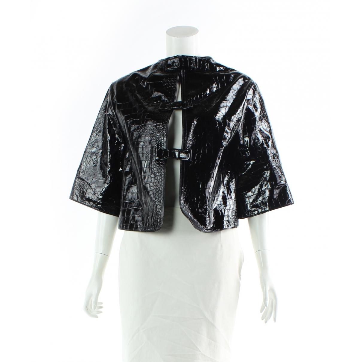 Erdem - Veste   pour femme en cuir - noir