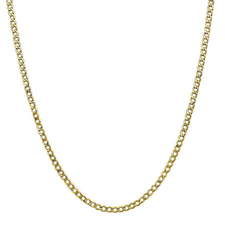 10K Gold Chain Necklace, One Size , No Color Family