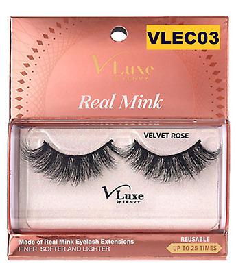 V-Luxe Real Mink u2013 Velvet Rose