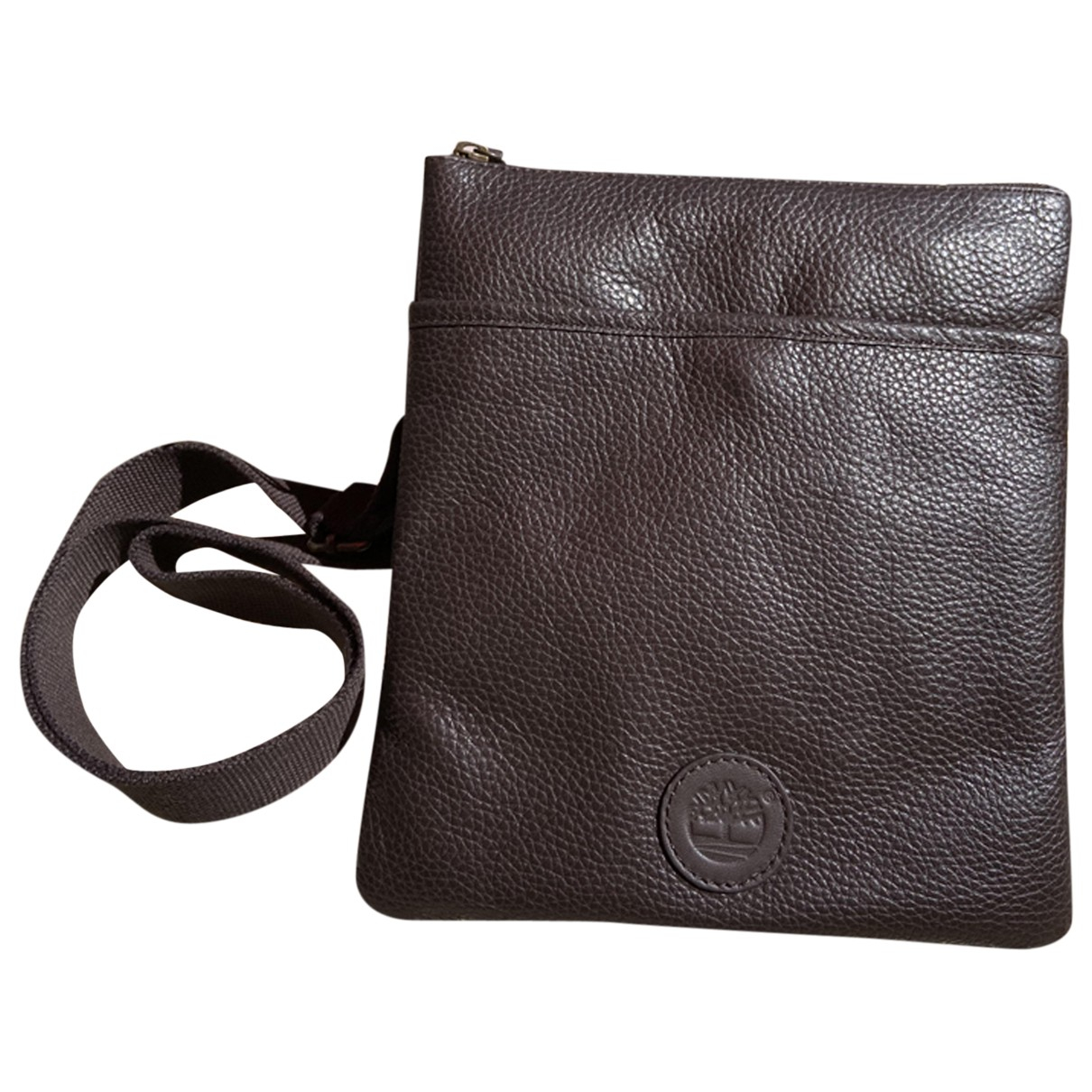 Timberland \N Leather Small bag, wallet & cases for Men \N