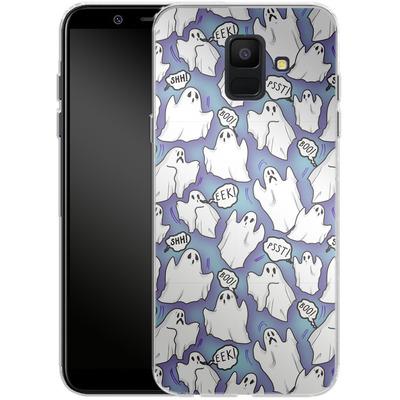 Samsung Galaxy A6 Silikon Handyhuelle - Ghost Pattern von caseable Designs