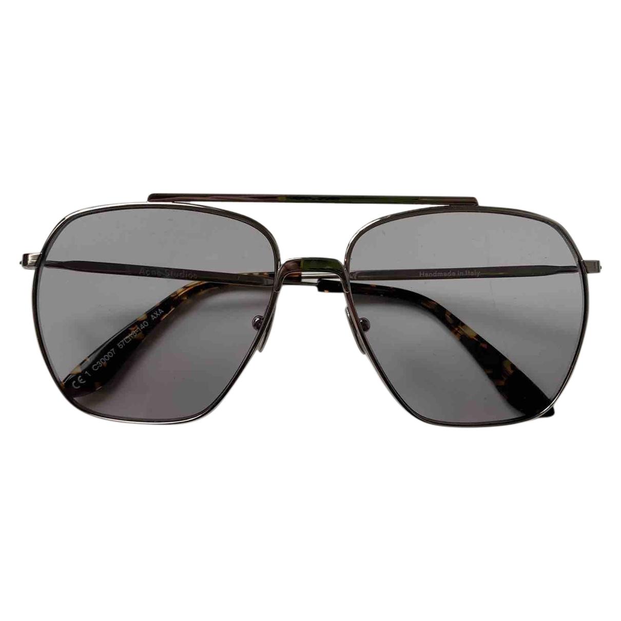 Acne Studios \N Silver Metal Sunglasses for Men \N