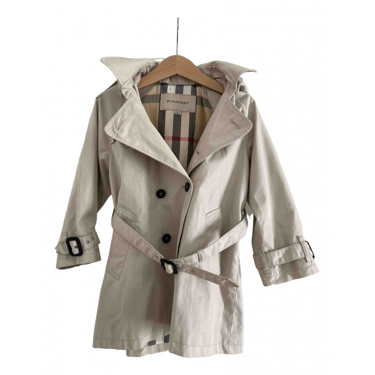 Burberry \N Beige Cotton jacket & coat for Kids 3 years - up to 98cm FR