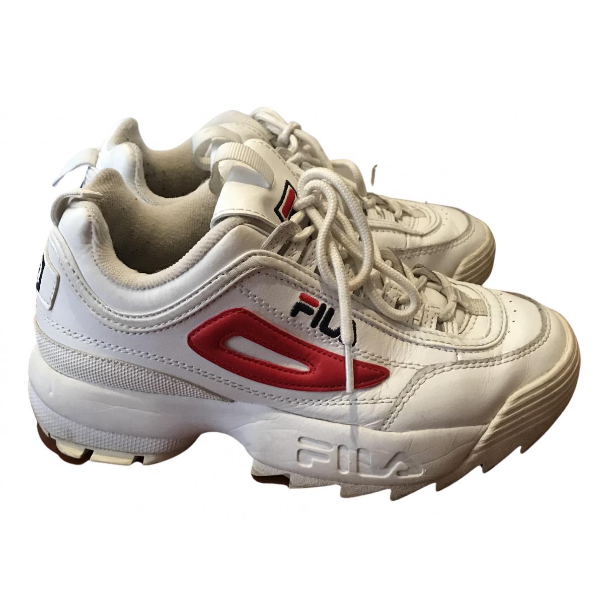 Fila \N Sneakers in  Weiss Kautschuk