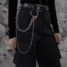 Men Layered Pant Chain