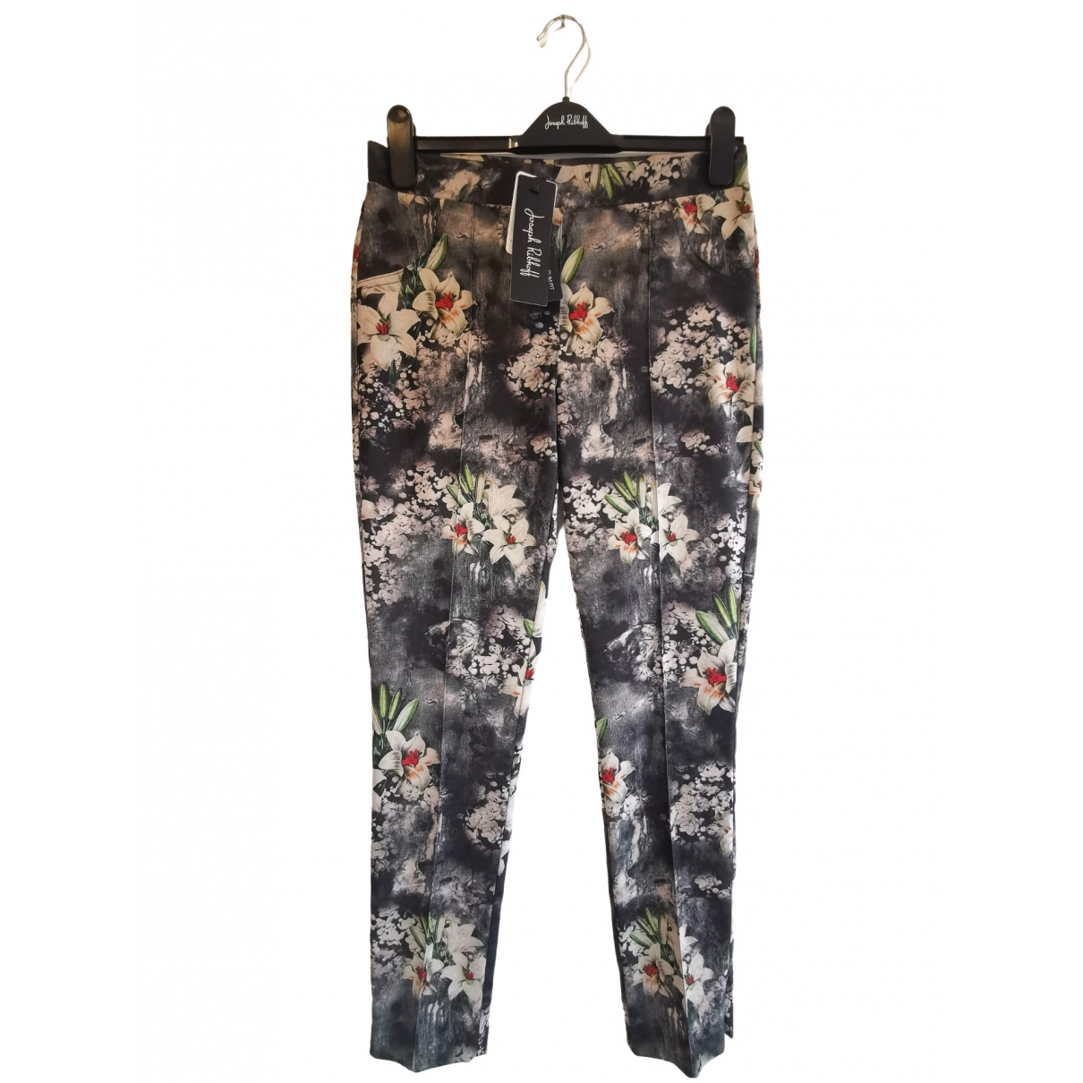 Joseph Ribkoff \N Black Trousers for Women 10 UK