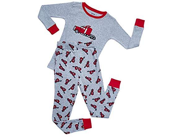 Leveret Trailer 2 Piece Pajama Set