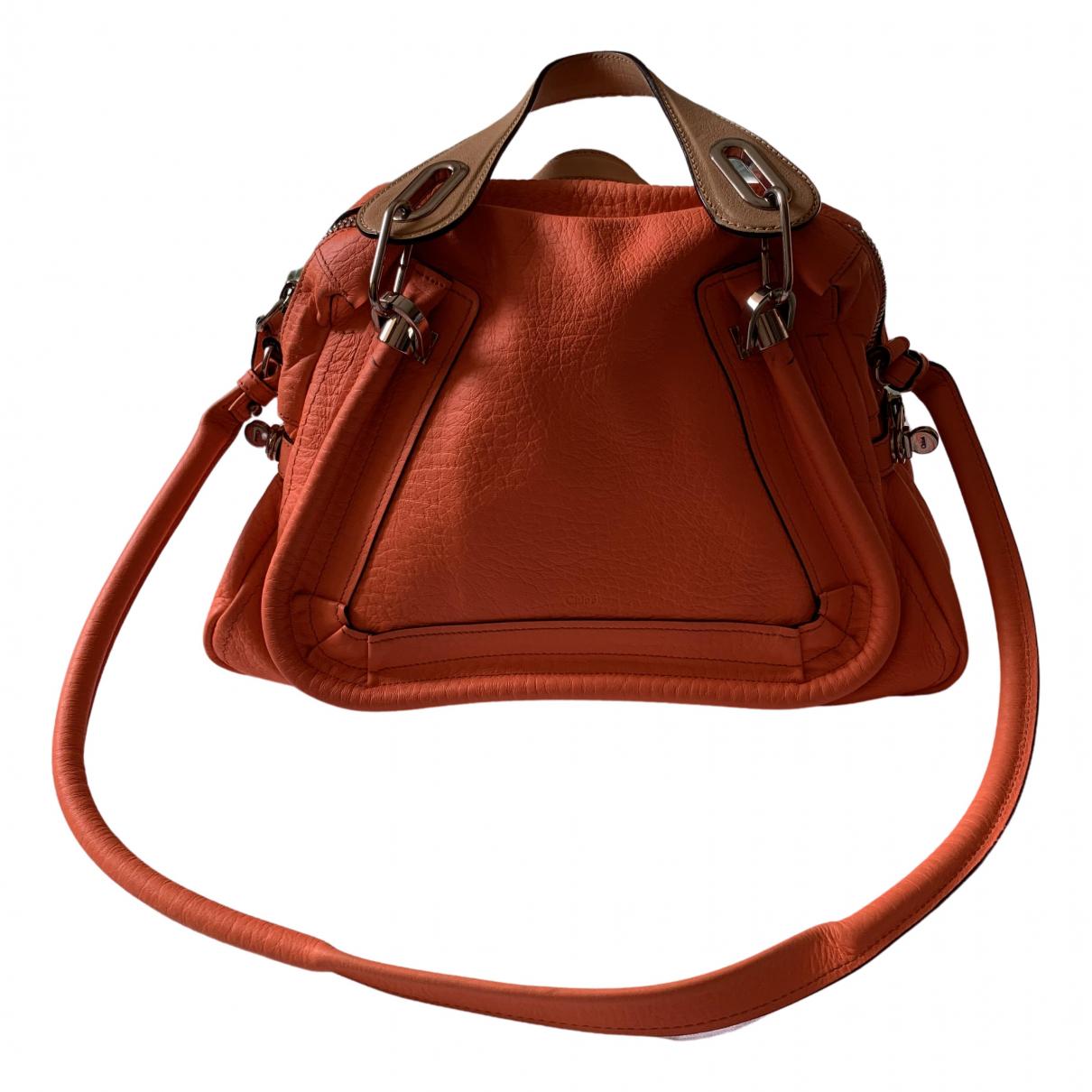 Chloé Paraty Orange Leather handbag for Women \N