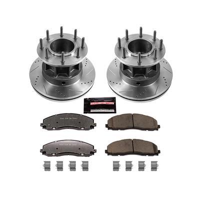 Power Stop Z36 Severe-Duty Truck & Tow 1-Click Front Brake Kit - K6823-36