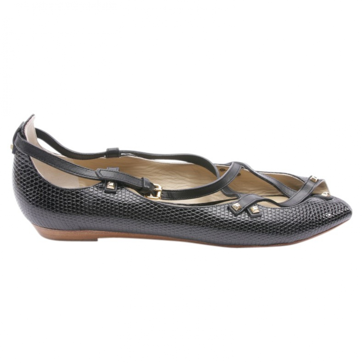 Etro \N Black Leather Trainers for Women 41 EU
