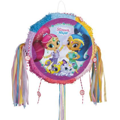 Shimmer and Shine 1 Drum Pull Pop-Out Piñata Pour la fête danniversaire
