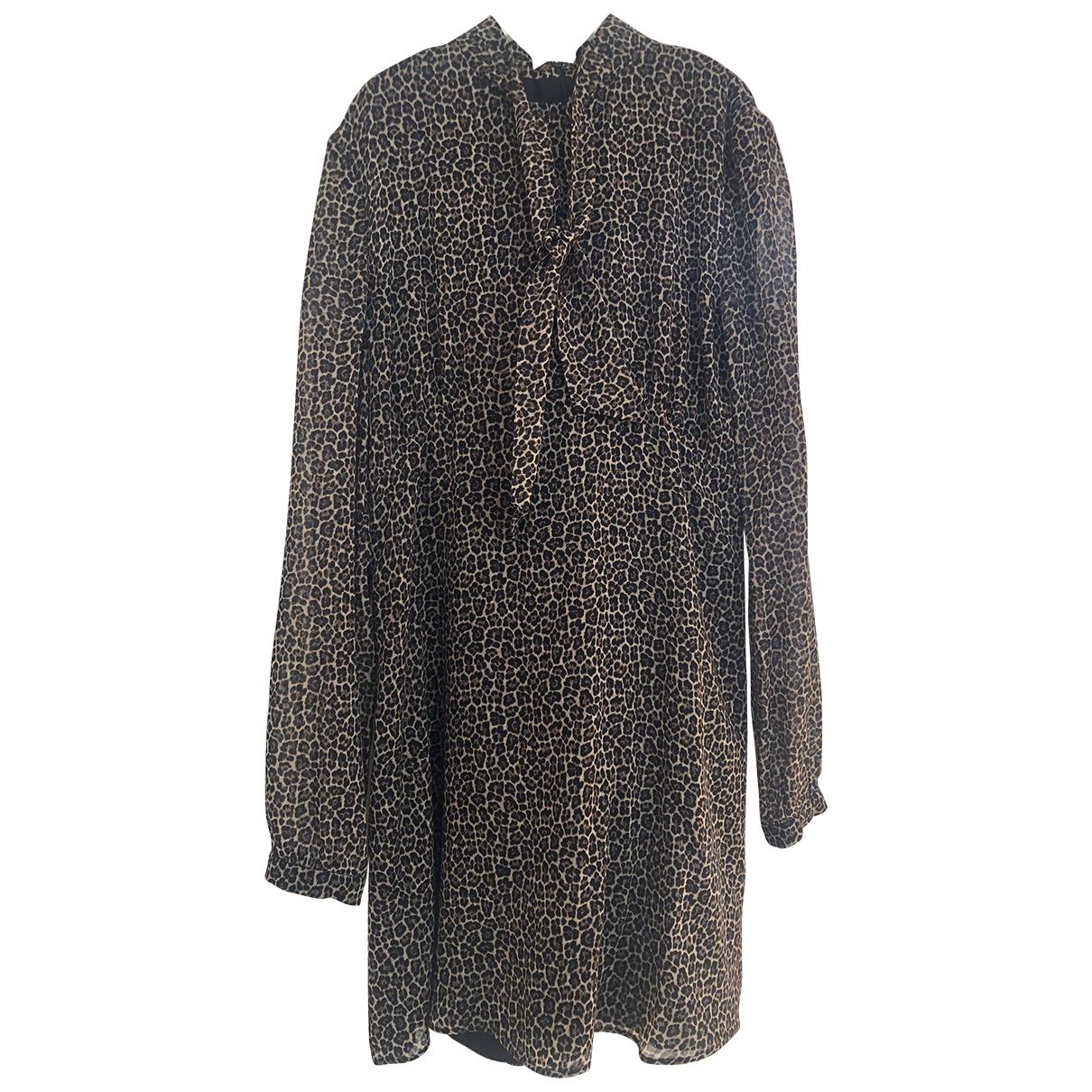 Saint Laurent - Robe   pour femme en laine
