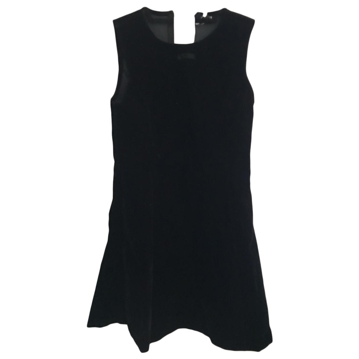 Moschino \N Kleid in  Schwarz Samt