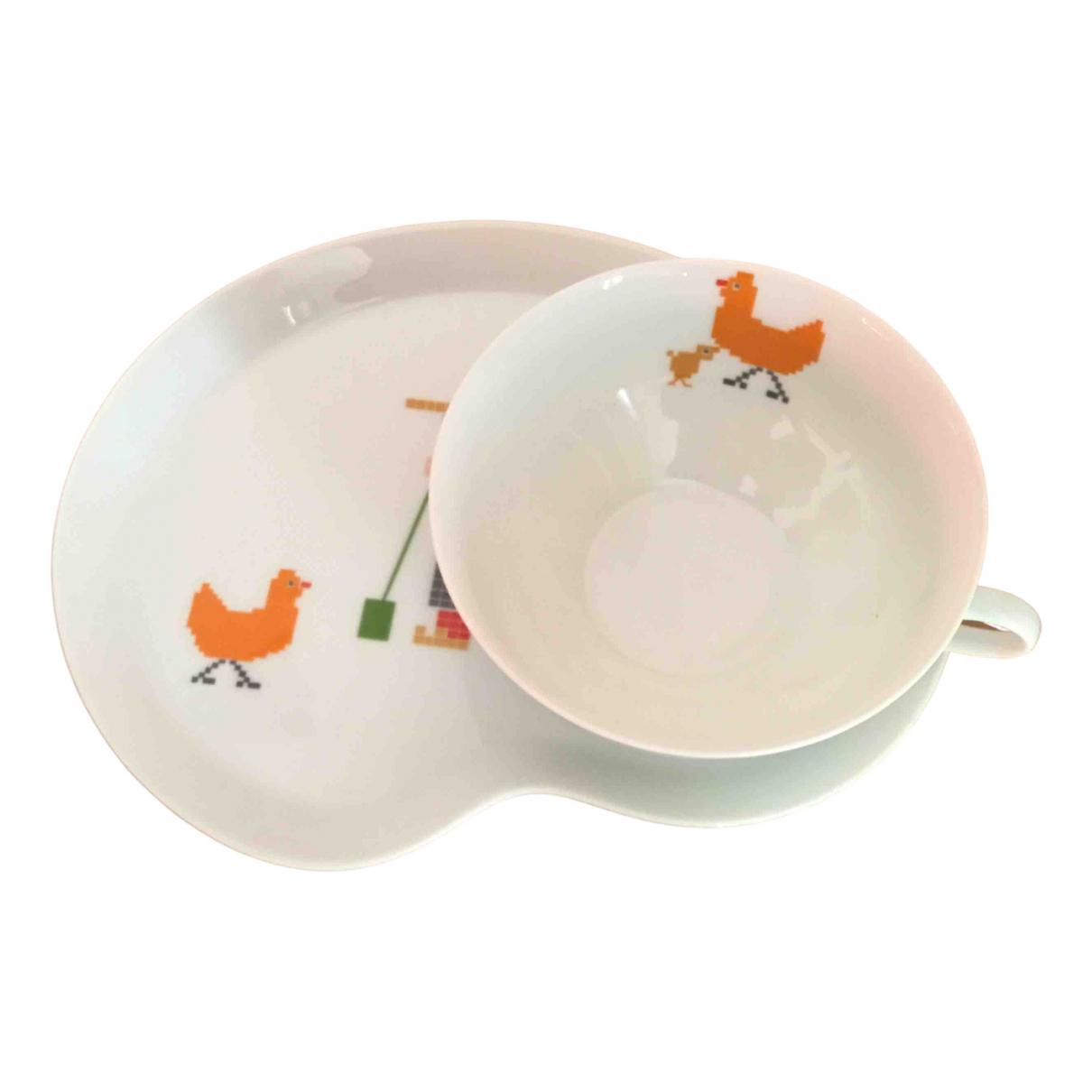 Christofle - Arts de la table   pour lifestyle en porcelaine - blanc