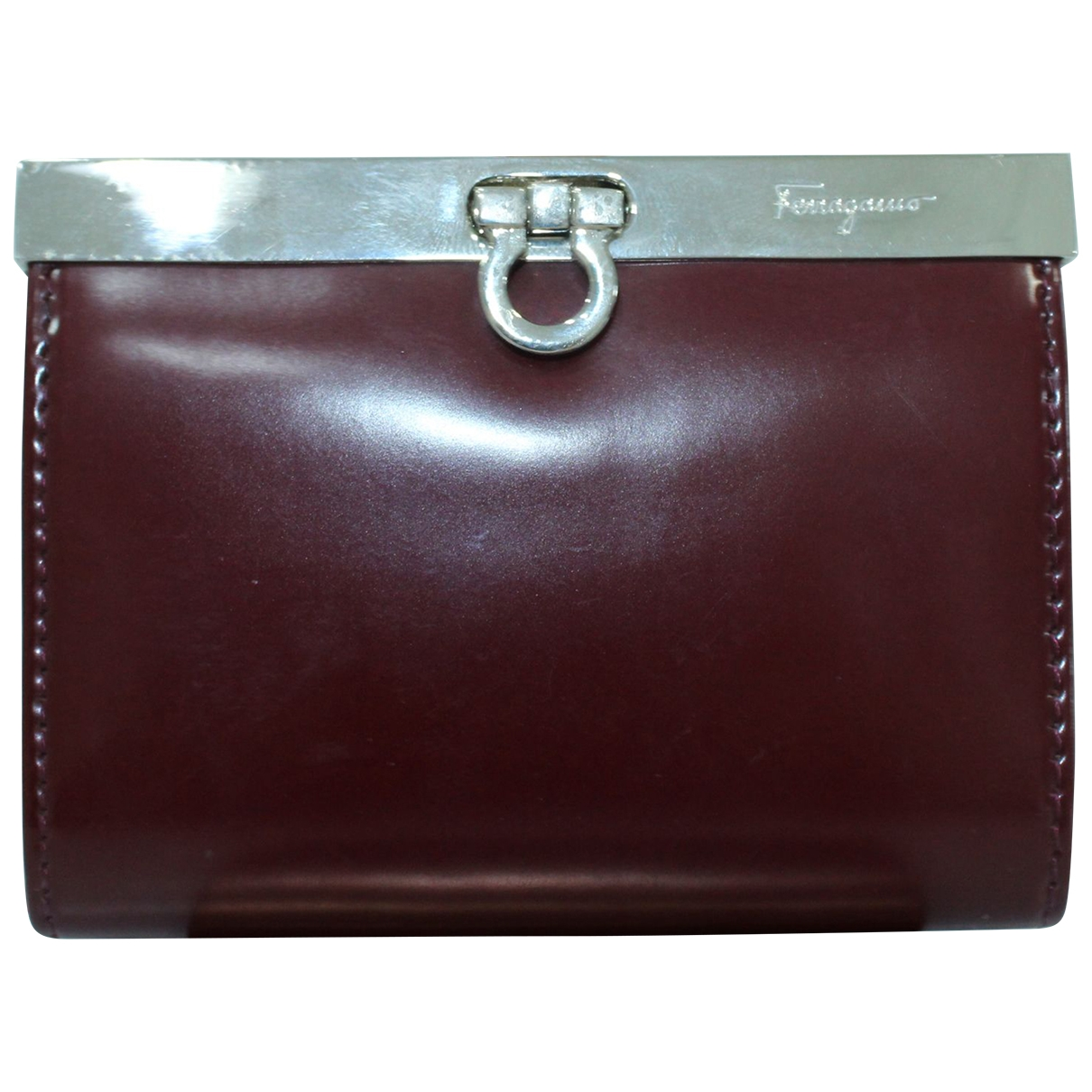 Salvatore Ferragamo \N Burgundy Leather wallet for Women \N