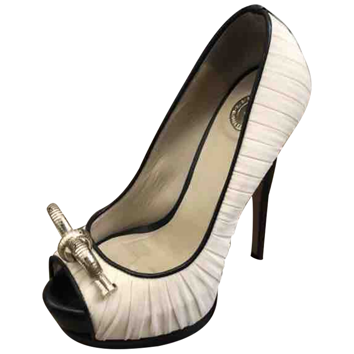 Elisabetta Franchi \N Pink Leather Heels for Women 35 EU