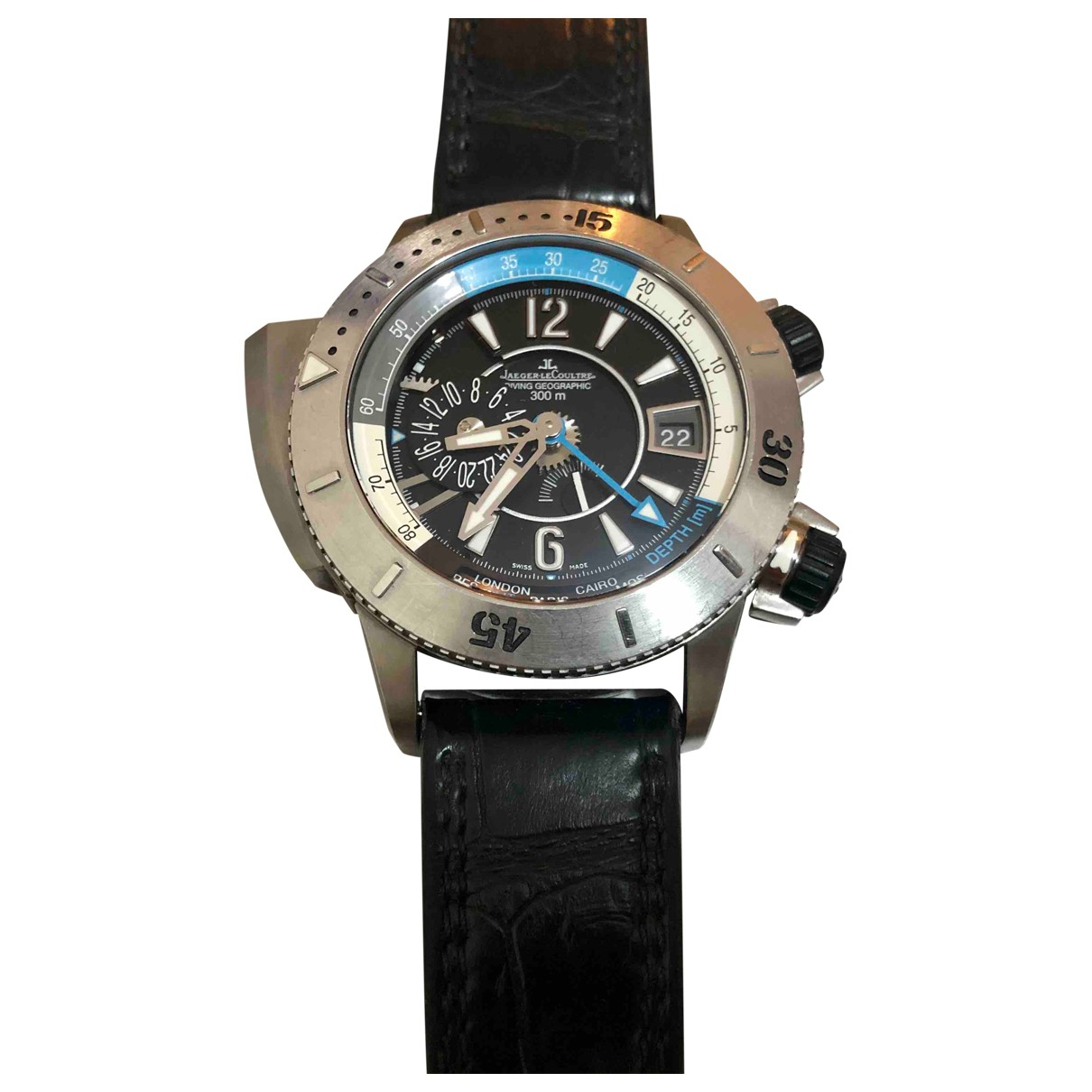 Jaeger-lecoultre Master Compressor  Uhr in Titan