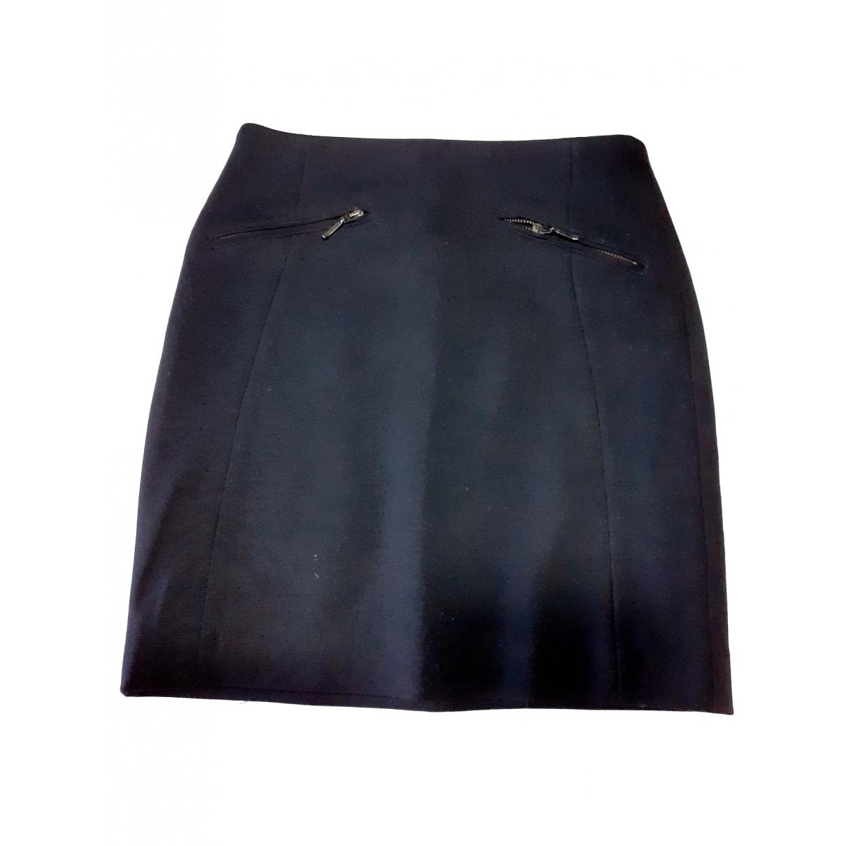 Massimo Dutti - Jupe   pour femme - noir