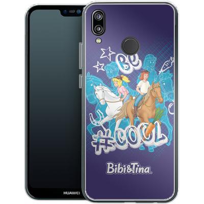 Huawei P20 Lite Silikon Handyhuelle - Bibi und Tina Be Cool von Bibi & Tina