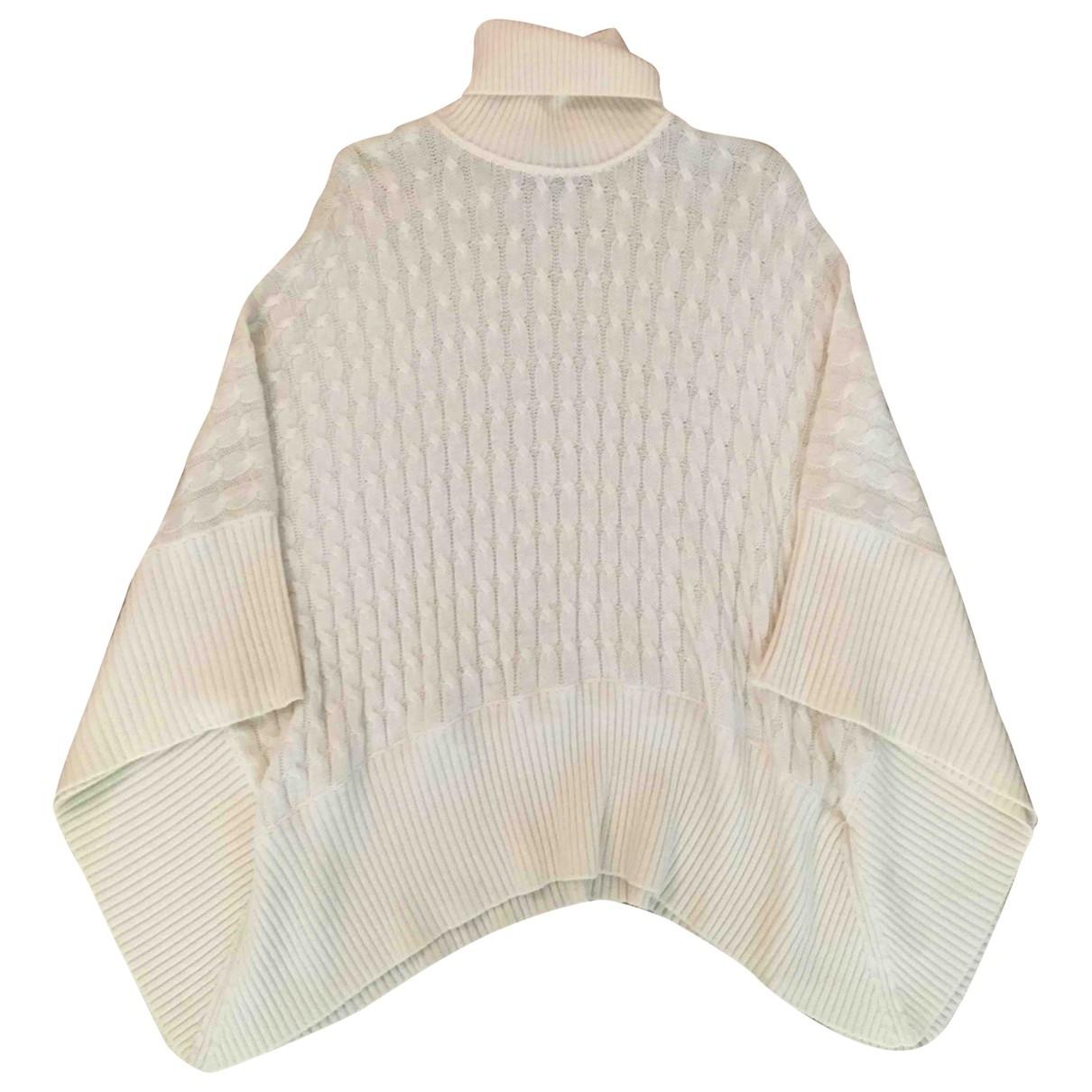 Max Mara Studio - Pull   pour femme en laine - blanc