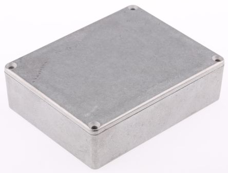 Hammond 1590, Die Cast Aluminium Enclosure, IP54, Shielded, 119.5 x 94 x 34mm