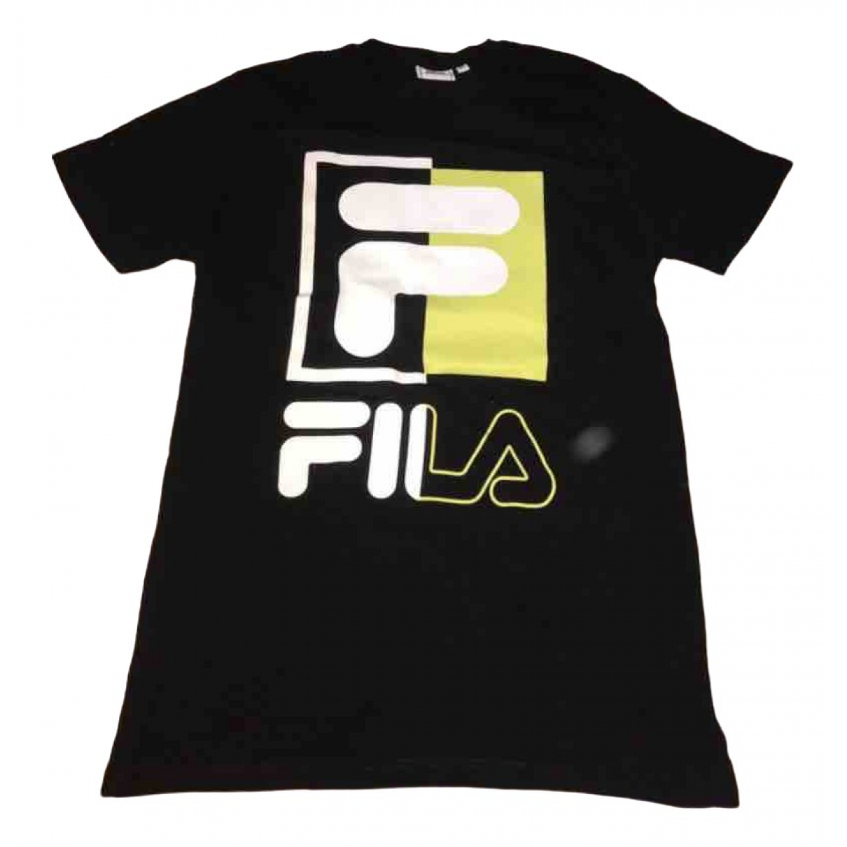 Fila \N Black Cotton T-shirts for Men XS International
