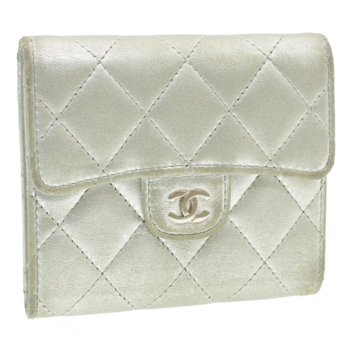 Chanel \N Schal Silber