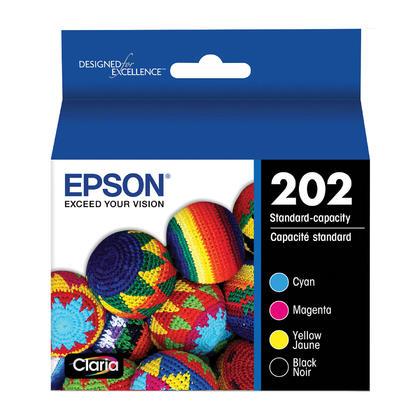 Epson 202 T202120-BCS Original Ink Cartridge Combo BK/C/M/Y