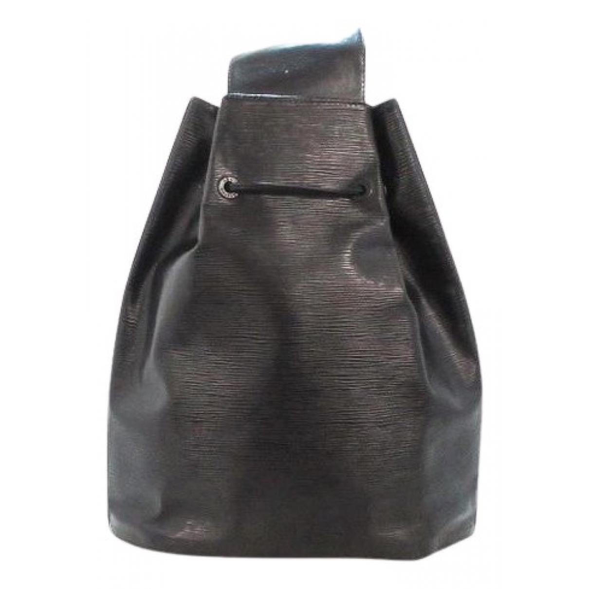 Louis Vuitton \N Rucksaecke in  Schwarz Leder
