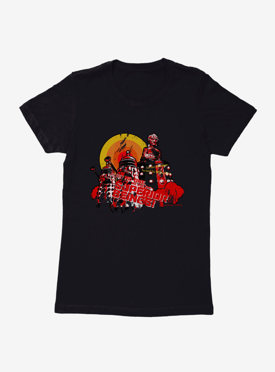 Doctor Who Superior Beings Womens T-Shirt