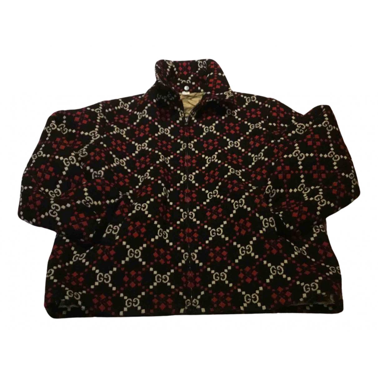 Gucci \N Pullover.Westen.Sweatshirts  in  Bunt Wolle