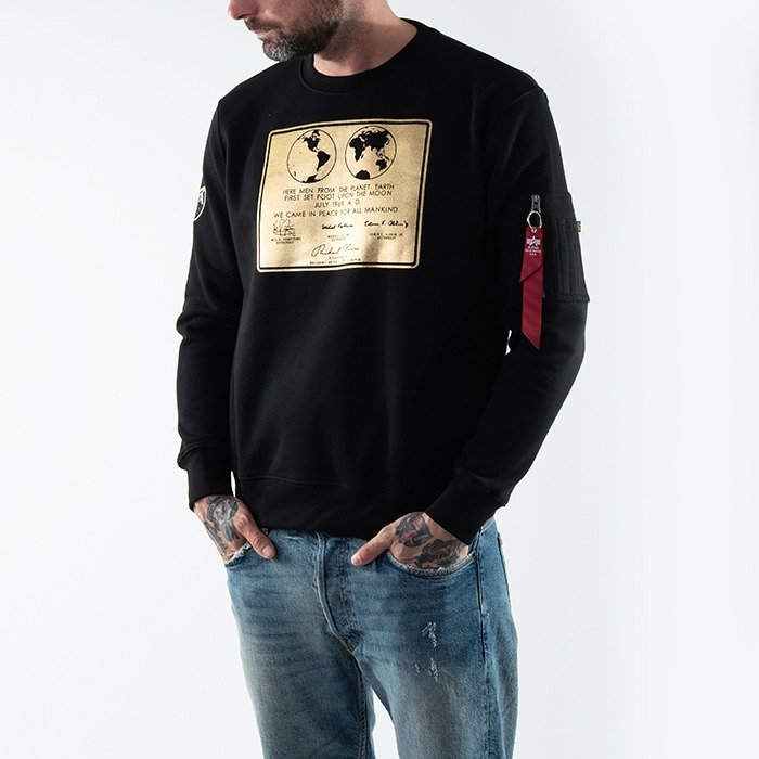 Alpha Industries Lunar Plaque Sweater 128310 03
