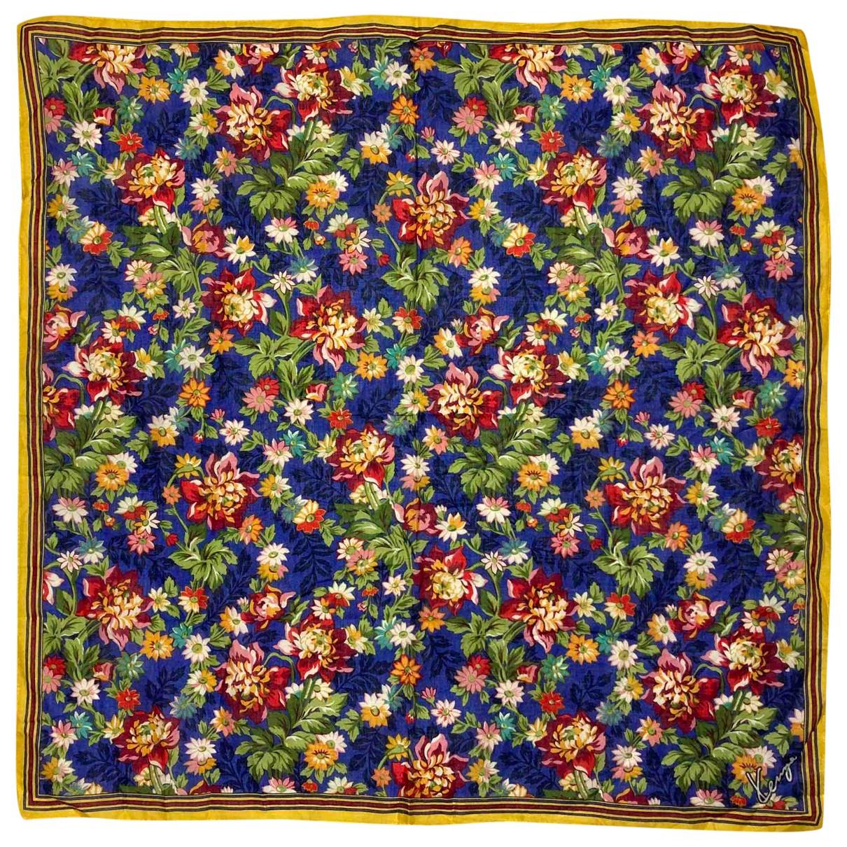 Kenzo - Carre   pour femme en coton - multicolore