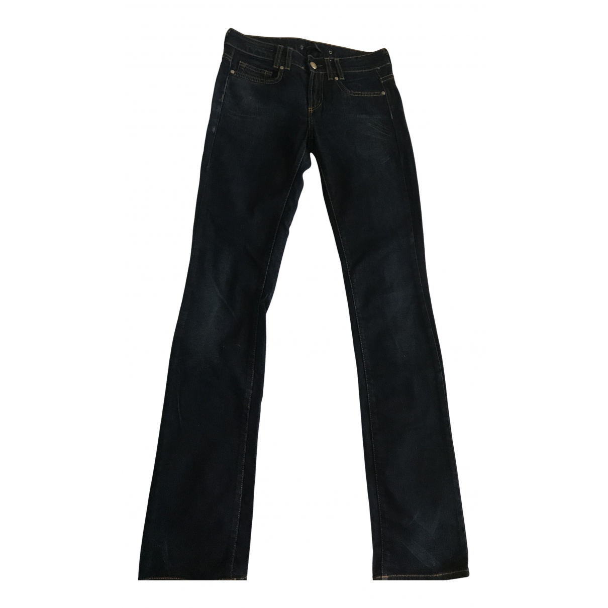 Gianfranco Ferré \N Navy Denim - Jeans Jeans for Women 39 FR