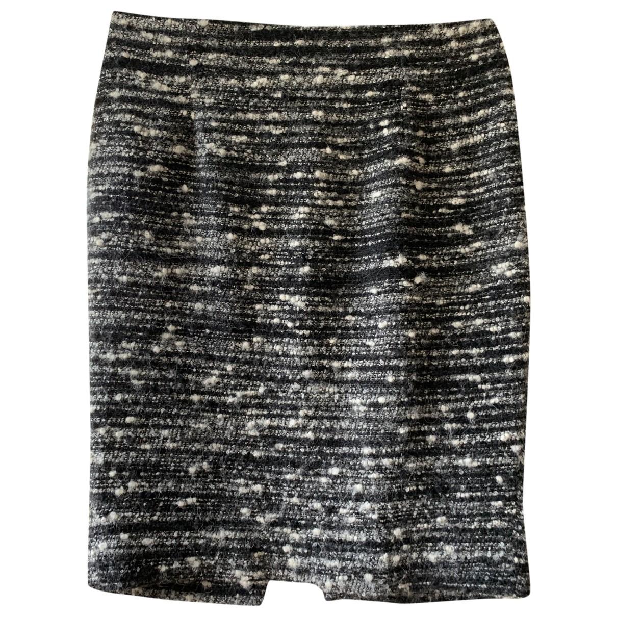 Zara \N Rocke in  Grau Tweed