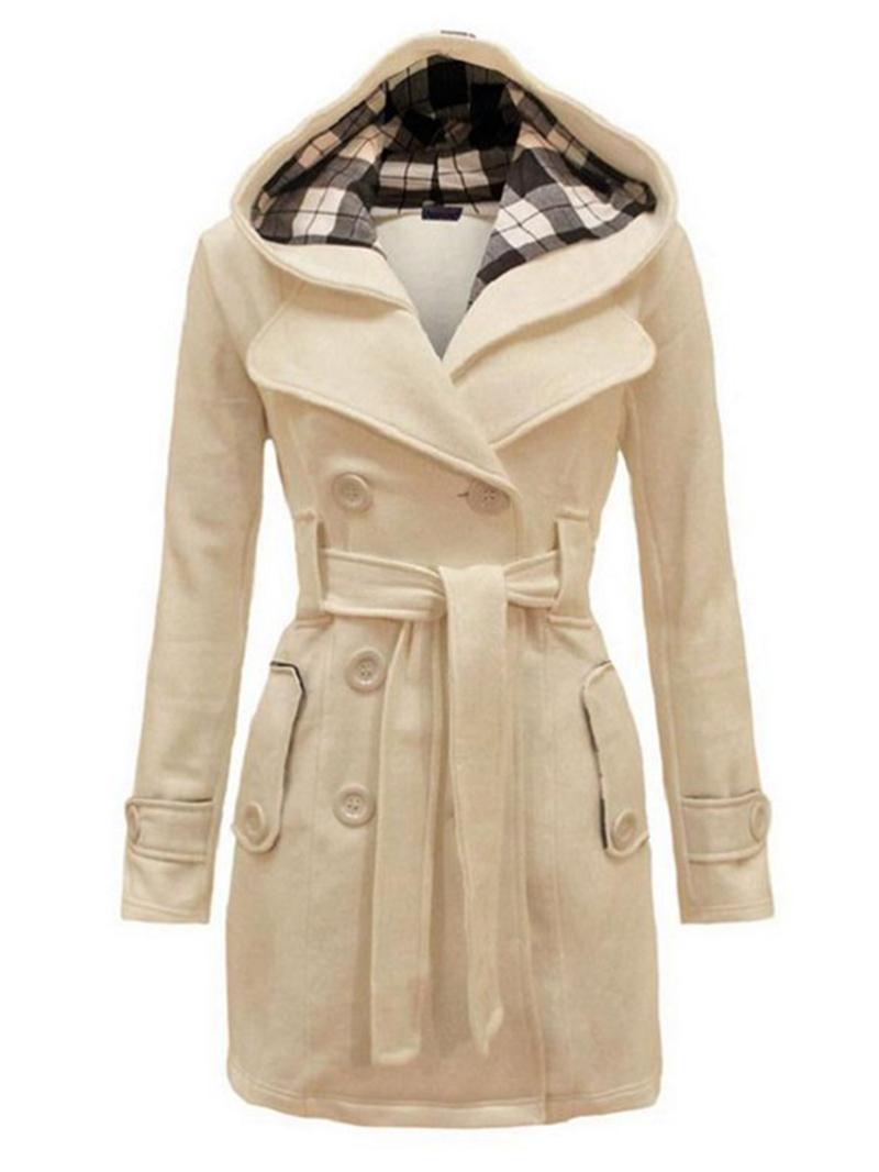 Ericdress Euro-American Style Women Hooded Coat