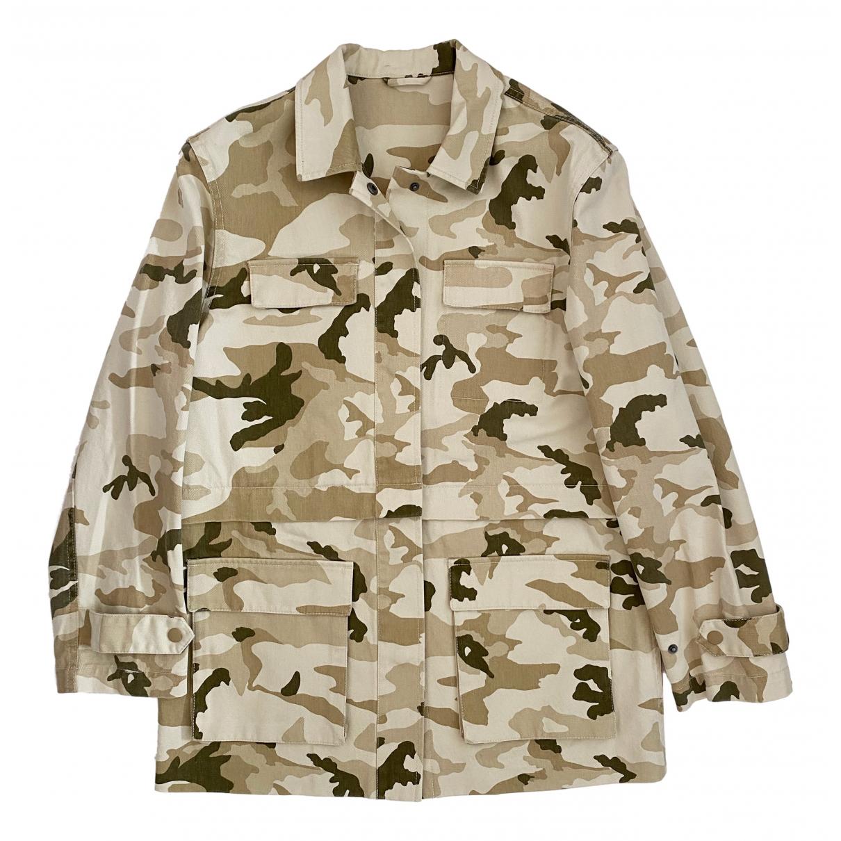 & Stories N Khaki Cotton jacket for Women 34 FR