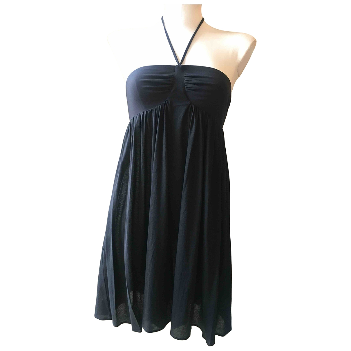 Eres \N Black Cotton dress for Women M International