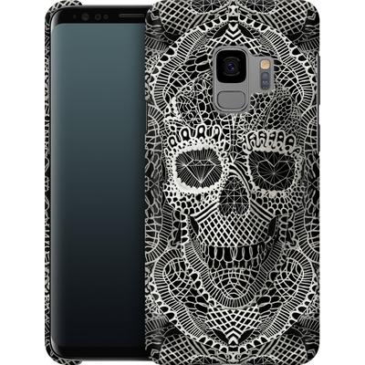 Samsung Galaxy S9 Smartphone Huelle - Lace Skull von Ali Gulec