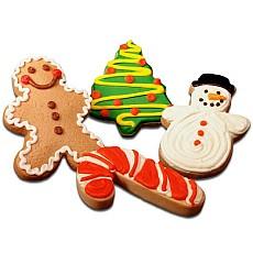 Christmas Party Favors   Christmas Sugar Cookies